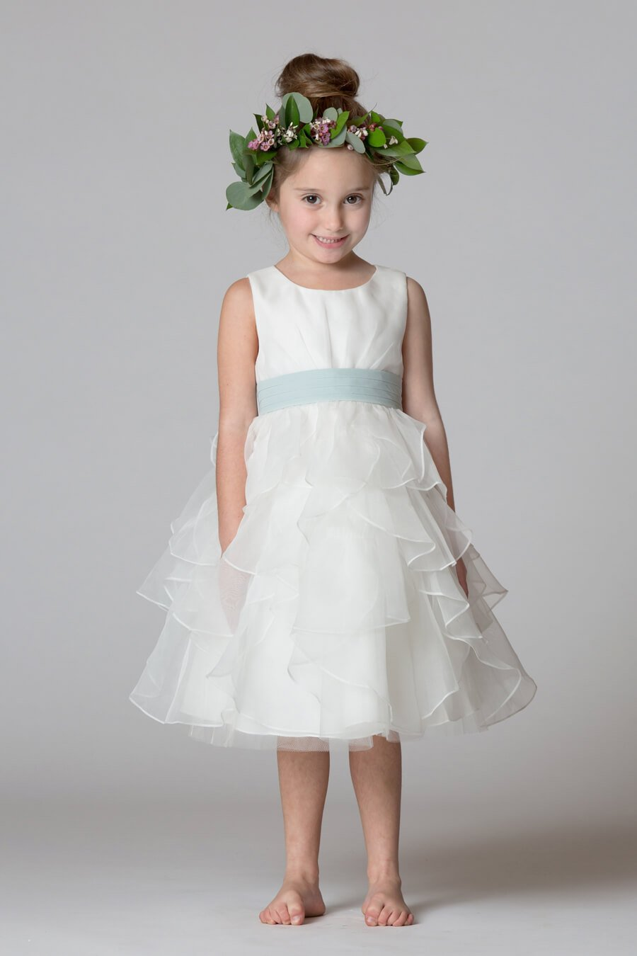Style F7417 Bridesmaid Dresses Evening Gowns Flower Girl